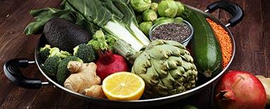 vegetarisch / vegan / bio / öko / diätetisch